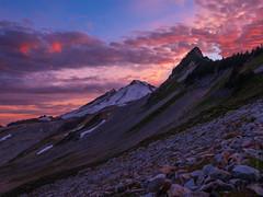 DSCF8502-HDR (www.mikereidphotography.com) Tags: baker ptarmiganridge hiking gfx50s sunset shuksan