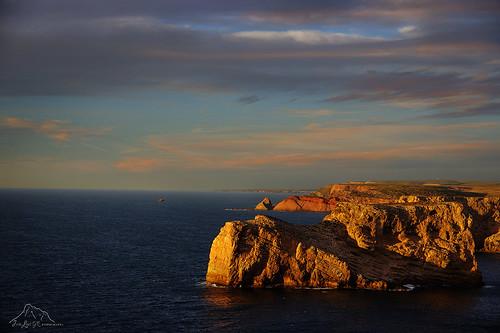 Atardecer en Acantilado-Cabo-San-Vicente1
