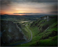 Winnats sunrise (dickiebirdie68) Tags: landscape sunrise sunset hill mountain peak district road portrait clouds winnats pass nikon d850