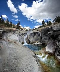 Woods Creek Waterslide Pool - John Muir Trail (Bruce Lemons) Tags: sierra sierranevada mountains backpacking hike hiking wilderness landscape california johnmuirtrail jmt kingscanyonnationalpark woodscreek creek waterslide pool mark