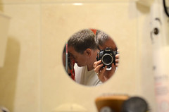day 246 (Wolfgang Binder) Tags: 365days me self nikon d7000 voigtländer ultron402 mirror reflection