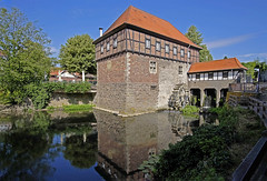 """Luedinghausen (Muensterland, Ger) - Borgmühle - """"Borg Water Mill"""" (Manfred_H.) Tags: architecture historic muensterland watermill luedinghausen samyang 12mmf2 samyang12mmf2ncscs technology mill"""