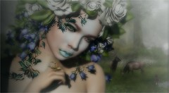 Circle of Life (tarja.haven) Tags: kiratattoo vanityevent facetattoo photography photo pixelart portrait tarjahaven event avatar sl secondlife digitalart fashion virtual