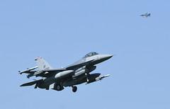 "F-16CM AV 89-2030, 510th Fighter Squadron Flag ship ""Buzzards"" Aviano AFB, Italy (TAIRNGREACHT_BAS) Tags: viper usaf aviano f16c block40"