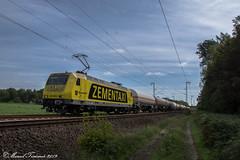 RheinCargo 145-089, Bentlage (cellique) Tags: rheincargo zementaxi 145089 keteltrein spoorwegen goederentrein guterzug cargo bentlage emslandstrecke treinen eisenbahn zuge railway train