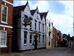 Golden Eagle (Lotsapix) Tags: chester cheshire city architecture building buildings street pub inn tavern ale alehouse