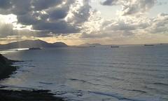 ferry saliendo del Abra desde Aizkorri (eitb.eus) Tags: eitbcom 42260 g1 tiemponaturaleza tiempon2019 costa bizkaia getxo aitorarnedo