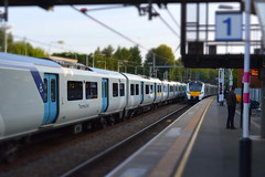 Double Vision (dhcomet) Tags: thameslink stalbans herts hertfordshire class700 train railway station