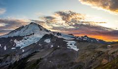 Mount Baker Beginning of Sunset (www.mikereidphotography.com) Tags: baker ptarmiganridge hiking gfx50s sunset shuksan