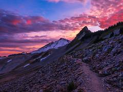 DSCF8514-HDR (www.mikereidphotography.com) Tags: ptarmiganridge sunset baker shuksan northcascades gfx50s