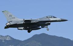 "F-16CM AV 87-0359, 555th Fighter Squadron ""Triple Nickel"" Aviano AFB, Italy (TAIRNGREACHT_BAS) Tags: usaf f16c block40 viper aviano"