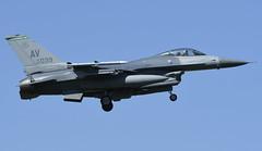 "F-16CM AV 89-2039, 555th Fighter Squadron ""Triple Nickel"" Aviano AFB, Italy (TAIRNGREACHT_BAS) Tags: usaf f16c block40 viper aviano"