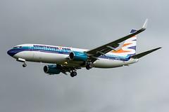 N277EA (hartlandmartin) Tags: n277ea smartwings boeing 737800 birmingham bhx egbb elmdon aircraft airport airline aeroplane aviation airplane landing nikon d7200 70300afp