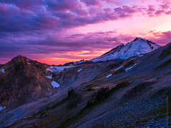 DSCF8536-HDR (www.mikereidphotography.com) Tags: ptarmiganridge sunset baker shuksan northcascades gfx50s
