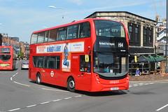 YX68 UOP (ADH45295) RATP Group London Sovereign (hotspur_star) Tags: londontransport londonbuses londonbus londonbuses2019 alexanderdennisltd enviro400hmmc tfl transportforlondon hybridbus hybridtechnology busscene2019 ratpgroup londonsovereign yx68uop adh45295 h14 doubledeck