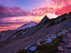 DSCF8521-HDR (www.mikereidphotography.com) Tags: ptarmiganridge sunset baker shuksan northcascades gfx50s