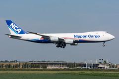 JA16KZ - Nippon Cargo Airlines - Boeing 747-8KZF (5B-DUS) Tags: ja16kz nippon cargo airlines boeing 7478kzf b748 747800 ams eham amsterdam schiphol airport aircraft airplane aviation flughafen flugzeug planespotting plane spotting