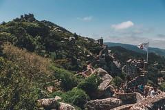 Castelo dos Mouros (dogslobber) Tags: green portugal europe travel adventure explore wander sintra moorish castle castelo dos mouros history historical