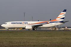 OK-TVX | Smartwings | Boeing B737-8Z9(WL) | CN 33833 | Built 2005 | VIE/LOWW 05/04/2019 | ex OE-LNR (Mick Planespotter) Tags: aircraft airport 2019 nik sharpenerpro3 spotter schwechat wien flughafen avgeek aviation b737 oktvx smartwings boeing b7378z9wl 33833 2005 vie loww 05042019 oelnr