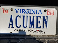 Acumen (Gamma Man) Tags: licenseplate plate va virginia elichristman elijahchristman elijameschristman elijahjameschristman elichristmanrva elijahchristmanrva elichristmanrichmondva elichristmanrichmondvirginia elijahchristmanrichmondva elijahchristmanrichmondvirginia vanitytag numberplate wankertag customnumberplate vanityplate