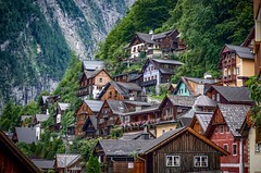 Hallstatt (Ula P) Tags: austria hallstatt mountains green wonderland exploring sony sonyalpha