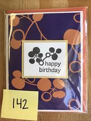 Purple mod birthday card (artnoose) Tags: purple california berkeley deepinkletterpress wholesale card birthday happy letterpress
