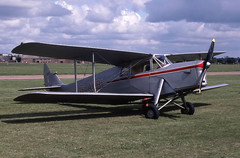Hornet Moth (Pentakrom) Tags: british aerospace hatfield 1980 de havilland dh87 hornet moth gahbl