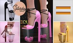 EQUAL - Mel Platforms The Saturday Sale (EQUAL SL) Tags: secondlife shoes equal slink maitreya belleza sale saturday