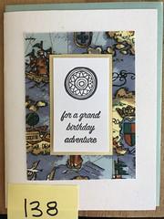 For a grand birthday adventure (artnoose) Tags: sailing boat california berkeley deepinkletterpress nautical compass birthday happy card wholesale letterpress adventure ocean sea map blue