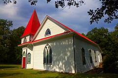 Castleton/Culpepper, Virginia (Fitzsimmons Photography (FitzPhoto)) Tags: church steeple movietheater castleton culpepper virginia building buildings roadtrip