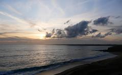 (An Arzhig) Tags: sunset coucher de soleil clouds cloud sky ciel nuage nuages ocean océan sea mer breizh bzh bretagne morbihan guidel france blue bleu panasonic lumix gx800 micro 43 landscape seascape
