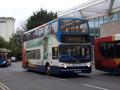 Stagecoach TransBus Trident (TransBus ALX400) 18194 PX04 DOJ (Alex S. Transport Photography) Tags: bus outdoor road vehicle alx400 alexanderalx400 dennistrident trident transbustrident transbusalx400 stagecoach stagecoachmidlandred stagecoachmidlands route1 18149 px04doj
