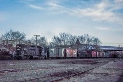 Conrail's First at East Penn Junction (douglilly) Tags: conrail gp382 eastpennjunction