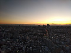 日没 (sunset) (Paul_ (shin.ogata)) Tags: 日没 sunset 富士 fuji 六本木 roppongi
