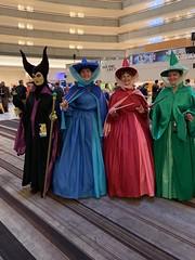 Maleficent and the Fairy Godmothers, Sleeping Beauty (marakma) Tags: dragoncon dragoncon2019 cosplay maleficent sleepingbeauty fairygodmothers disney