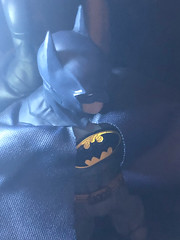 Batman (misterperturbed) Tags: mezco mezcoone12collective sovereignknight blue batman dccomics pxexclusive one12collective