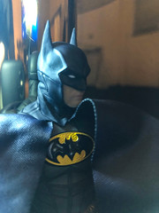 IMG_7523 (misterperturbed) Tags: mezco mezcoone12collective sovereignknight blue batman dccomics pxexclusive one12collective