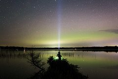 northern beacon (eb78) Tags: mn minnesota tenmilelake nightphotography npy longexposure auroraborealis northernlights tml2018
