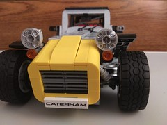 LEGO Caterham (2) (DarkNecrofear) Tags: lego caterham lotus super seven sports car