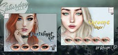 WarPaint* @TheSaturdaySale - Special Edition (Mafalda Hienrichs) Tags: warpaint war paint saturday sale day2night kit chrome liner eyeshadow mainstore event discount promotion cosmetic applier catwa omega bakes mesh bom