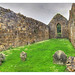 Ballycastle NIR - Bonamargy Friary the Black Nun grave 02