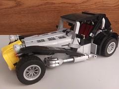 LEGO Caterham (1) (DarkNecrofear) Tags: lego caterham lotus super seven sports car
