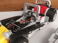 LEGO Caterham (6) (DarkNecrofear) Tags: lego caterham lotus super seven engine sports car