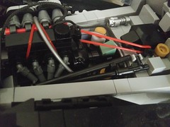 LEGO Caterham (7) (DarkNecrofear) Tags: lego caterham lotus super seven engine sports car