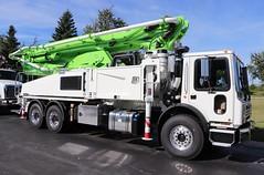 Putzmeister Concrete Pump Truck (raserf) Tags: putzmeister concrete cement truck trucks pump pumper pumping mack sturtevant wisconsin racine county