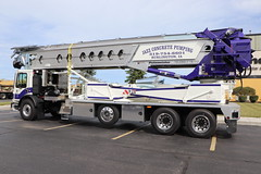 Jazz Concrete Pumping Truck (raserf) Tags: jazz concrete cement truck trucks pump pumper pumping telebelt tb 110 conveyor putzmeister mack sturtevant wisconsin racine county burlington iowa