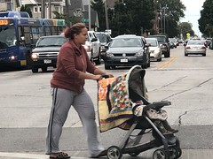 Lady with Baby in Stroller Crossing the Street on south side of Milwaukee Wisconsin 20190906 (tofightfortheright) Tags: milwaukee wisconsin 20190906 milwaukeewisconsin20190906 lady with stroller crossing street ladywithstrollercrossingthestreetmilwaukeewisconsin20190906 ladywithbabyinstrollercrossingthestreetmilwaukeewisconsin20190906 baby ladywithbaby ladywithstroller ladycrossingthestreet milwaukeewisconsin infant southside southsideofmilwaukee southsideofmilwaukeewisconsin