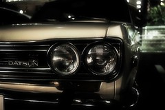 DATSUN BLUEBIRD 510 (Sat Sue) Tags: olympus micro four thirds 43 japan fukuoka car penf