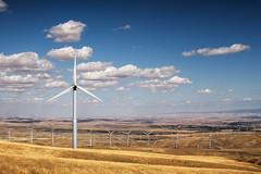 Wallula Turbines {Explored, thank you} (Desert Sun Images) Tags: windenergy windturbines clouds oregon washington canong9xmkii