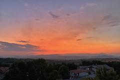 #Sunset in #Skopje #Macedonia #NorthMacedonia (petartrajkov) Tags: sunset skopje macedonia northmacedonia